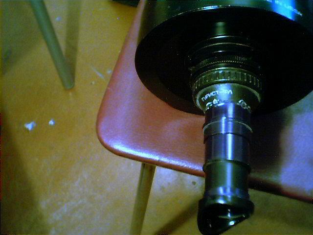 Объектив для самодельного телескопа
